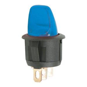Karos kapcsoló 1 áramkör 6A - 250V - 5 db / csomag - 09062KE