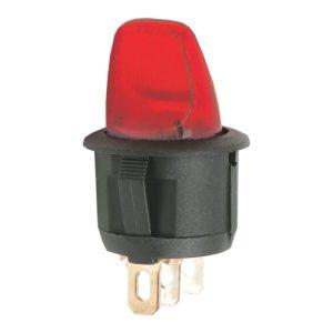 Karos kapcsoló 1 áramkör 6A - 250V - 5 db / csomag - 09062PI