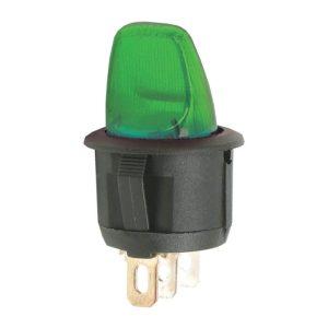 Karos kapcsoló 1 áramkör 6A - 250V - 5 db / csomag - 09062ZO