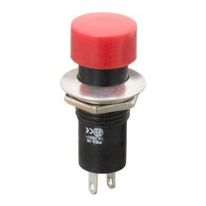 Nyomógombos kapcsoló 1 áramkör 1 A (3 A) - 250 V - 10 db / csomag - 09074PI