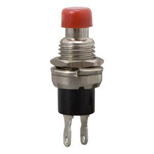 Nyomógomb 1 áramkör 3 A - 12 V DC (ON) - OFF - 10 db / csomag - 09080PI