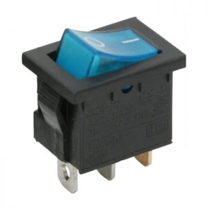 Billenő kapcsoló 1 áramkör 6 A - 250 V OFF-ON - 5 db / csomag - 09019KE