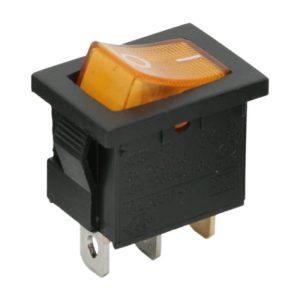 Billenő kapcsoló 1 áramkör 6 A - 250 V OFF-ON - 5 db / csomag - 09019SA