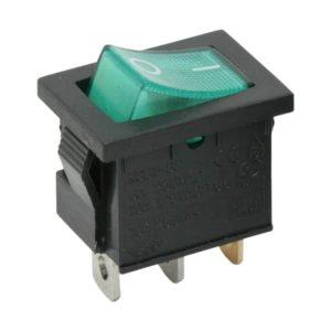 Billenő kapcsoló 1 áramkör 6 A - 250 V OFF-ON - 5 db / csomag - 09019ZO