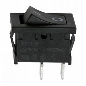 Billenő kapcsoló 1 áramkör 6 A - 250 V OFF - ON - 10 db / csomag - 09020