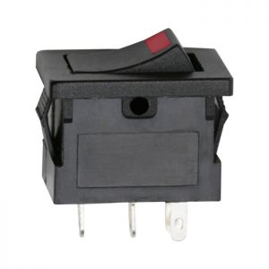 Billenő kapcsoló 1 áramkör 15 A - 12 V DC ON - OFF - 5 db / csomag - 09027PI