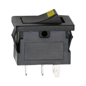 Billenő kapcsoló 1 áramkör 15 A - 12 V DC ON - OFF - 5 db / csomag - 09027SA
