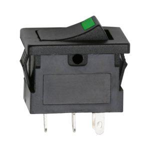 Billenő kapcsoló 1 áramkör 15 A - 12 V DC ON - OFF - 5 db / csomag - 09027ZO