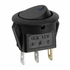 Billenő kapcsoló 1 áramkör 16 A - 12 V DC ON - OFF - 5 db / csomag -  09042KE