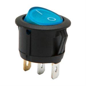 Billenő kapcsoló 1 áramkör 6 A - 250 V ON - OFF - 5 db / csomag - 09085BL