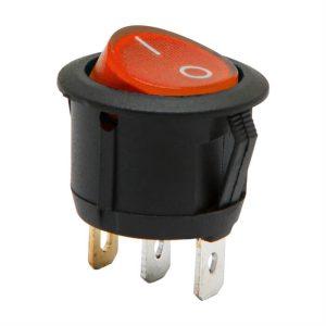 Billenő kapcsoló 1 áramkör 6 A - 250 V ON - OFF - 5 db / csomag - 09085RD