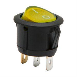 Billenő kapcsoló 1 áramkör 6 A - 250 V ON - OFF - 5 db / csomag - 09085YE