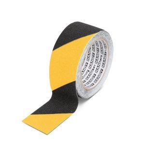Handy 11088B Ragasztószalag - csúszásmentes - 5 m x 50 mm - sárga / fekete