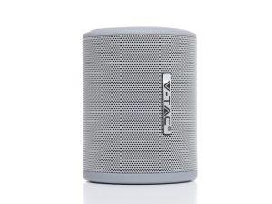V-TAC 7720 Barrel hordozható Bluetooth hangszóró kihangosítóval (5W) szürke