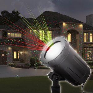 PHENOM Lézer projektor leszúrótüskével, talppal - 54908