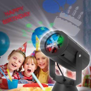 PHENOM Elemes LED projektor - születésnap, karácsony, halloween - 54909
