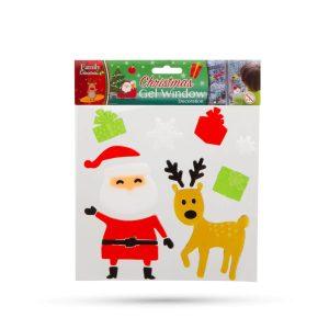 Family Pound Zselés ablakdekor - karácsonyi - 55204C