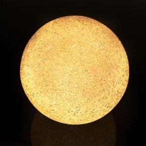 Family LED kristály hógolyó - 18 cm - 55978D