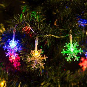 Family Fényfüzér - LED - Hópihe - 56501D