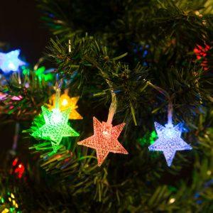 Family Fényfüzér - LED - Csillag - 56501F