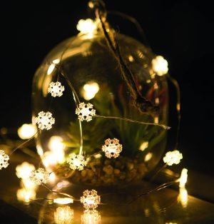 Family Karácsonyi LED fényfüzér 20 LED - 2 méter - melegfehér - 58036