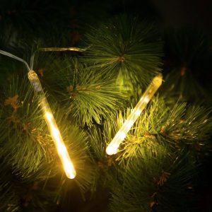 Family Meteor jégcsap karácsonyfa izzó - 60 LED - 11,5 cm - melegfehér - 58038A