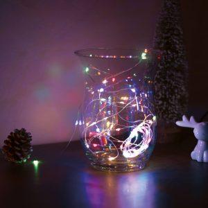 Family Karácsonyi LED fényfüzér - 5 m - 50 LED - multicolor - 58041B
