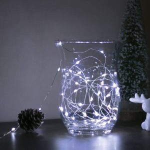 Family Karácsonyi LED fényfüzér - 5 m - 50 LED - hidegfehér - 58041C