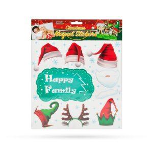 Family Karácsonyi hűtőmágnesek - 55998D