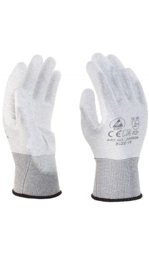 Rewear Carbon PU tenyérmártásos ESD kesztyű - RW-Carbon