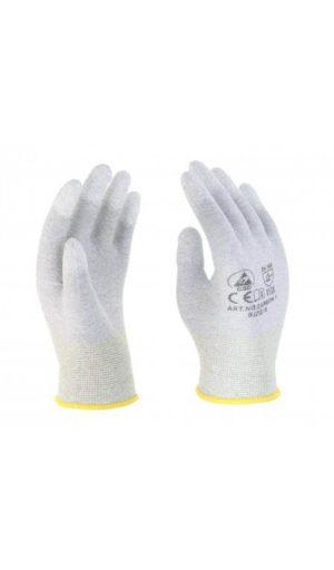 Rewear Carbon-1 ESD ujjvégen mártott kesztyű - RW-Carbon-1