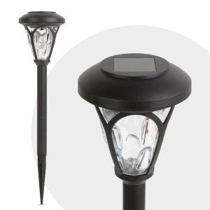 Garden of Eden LED-es szolár lámpa mintás plexivel - 11252