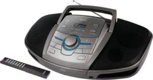 Sencor SPT 5280 hordozható Bluetooth CD-s rádió AUX/USB