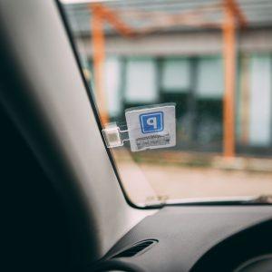 MNC Autós parkolójegy tartó - öntapadós - 55683
