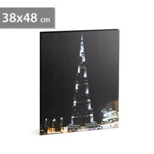 "Family LED-es fali hangulatkép - ""Burj Khalifa"" - 58018J"