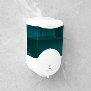 Vog&Arths Szenzoros szappanadagoló - 600 ml - fali - elemes - füst színű,51120B