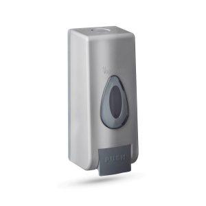 Vog&Arths Szappanadagoló - kézzel működtethető - 350 ml - fali - ezüst, 51119B