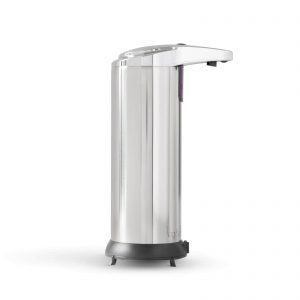 Vog&Arths Automata szappanadagoló - 220 ml - álló - elemes - króm, 51122A