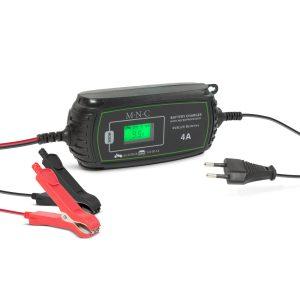 MNC Autós akkumulátor töltő - 230 V - 2 A / 4 A - automata - 55784C
