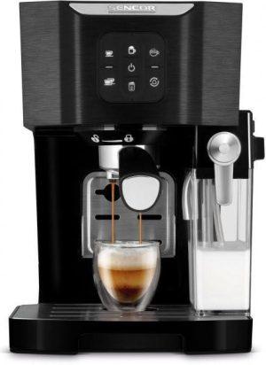 Sencor SES4040BK Kávéfőző - Csomagolása sérült termék!