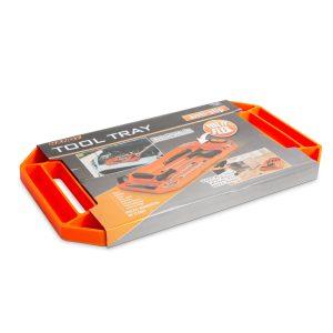 Handy Gumi szerszámos tálca tárolórekeszekkel - fogantyúval - 53 x 29,5 x 3,5 cm - 11985C