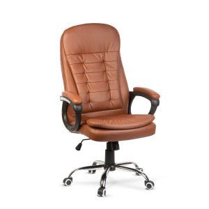 BMD Irodai szék karfával - barna - 74 x 54 / 54 x 50 cm - BMD1110BR