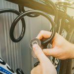 Wheel Zone Kerékpárlakat ujjlenyomatolvasóval - 150 cm - 57085
