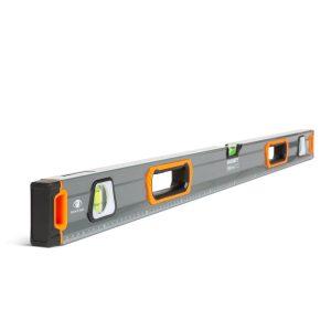 Handy Vízmérték, 100 cm - vonalzóval, tükörlibellával - 10624C