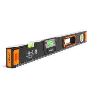 Handy Digitális Vízmérték, 60 cm - LCD kijelzővel, hangjelzéssel - 10625B