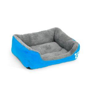 """Kutyafekhely - """"M"""" méret - 54 x 42 cm - kék - 60002BL"""
