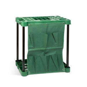 Műanyag kerti szerszámtartó - falra szerelhető - 58 x 31 x 60 cm - 11328