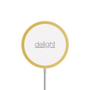 Delight Mágneses vezeték nélküli töltőpad - Type-C - arany - 55164B