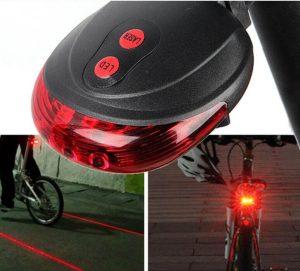 Lézeres LED-es bicikli világítás - HD1480