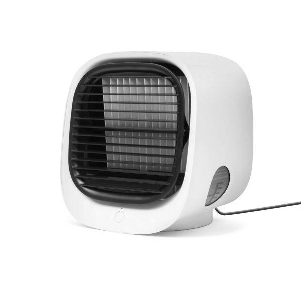 Bewello Hordozható mini léghűtő ventilátor - USB - fehér - BW2009WH